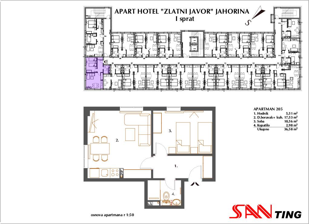 Apartman 205