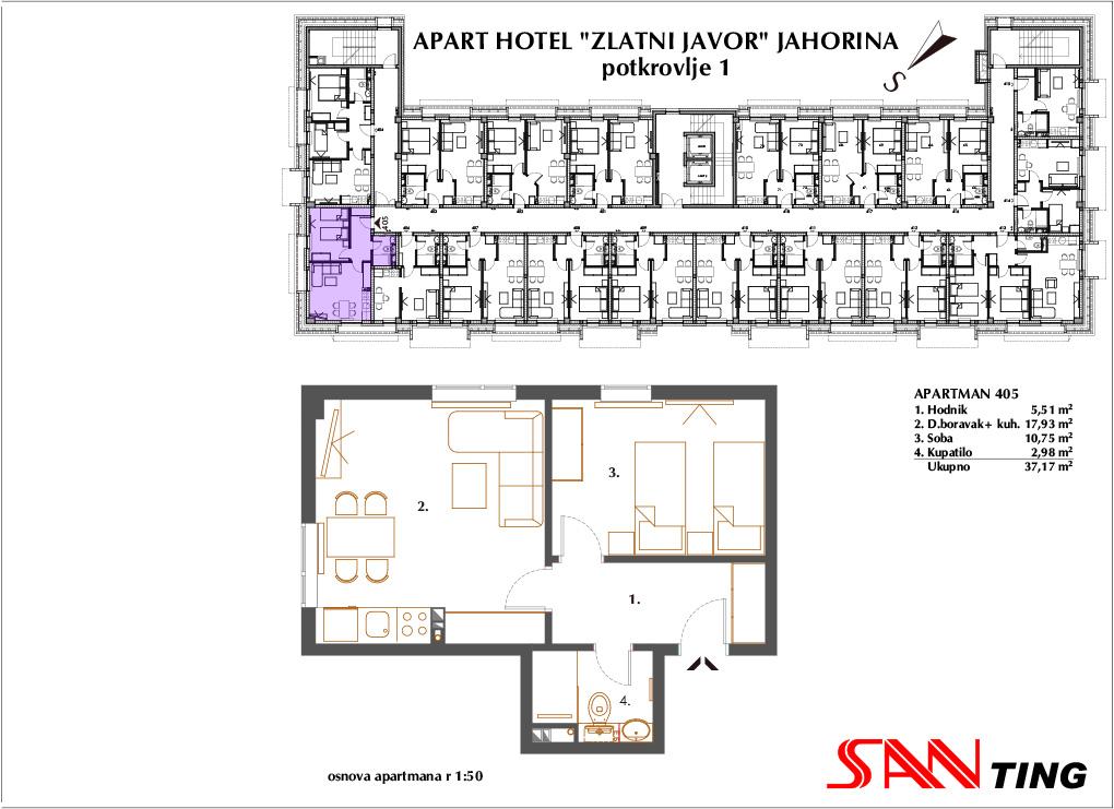 Apartman 405