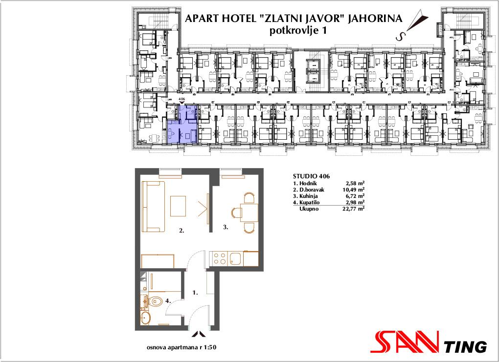 Apartman 406