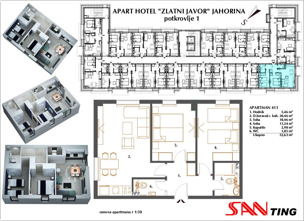 Apartman 413