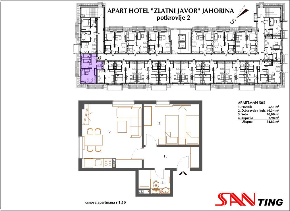Apartman 505