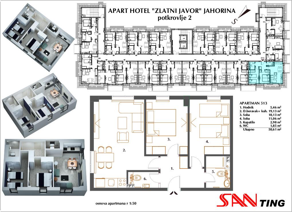 Apartman 513