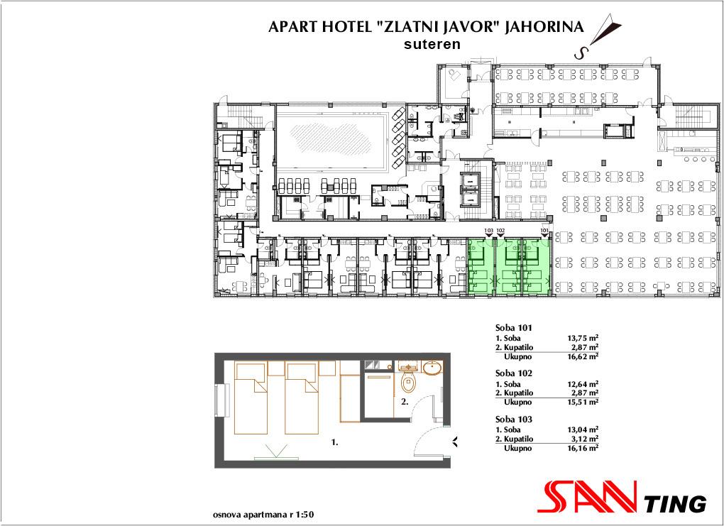 Apartman 101, 102, 103